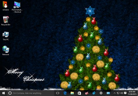 themes for windows 7 christmas christmas 2015 theme for windows 10 windows 7 and windows 8