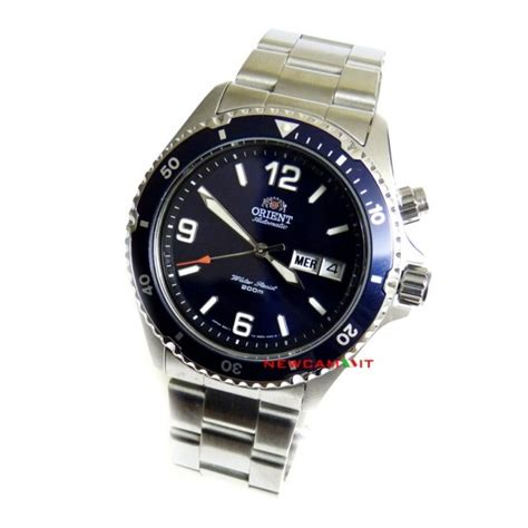 Orient Blue 2 Pesanam Mr K orient mako orologio automatico scuba diver s fem65002d