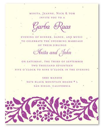 Wedding Invitations Seeded Paper by 15 Colorful Indian Wedding Invitations Indian Wedding