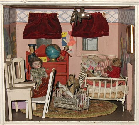 the vintage dolls inspiration for vintage bedroom 124 best antique dollhouse furniture images on pinterest
