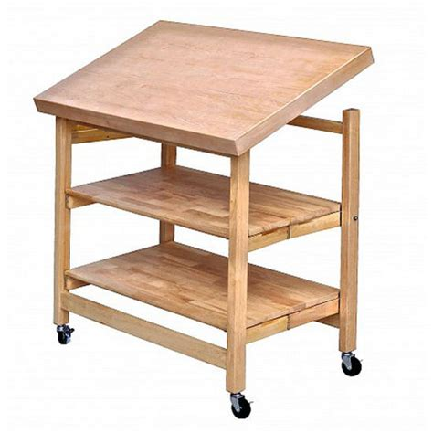 x large folding island stainless steel and wood modern oa kk 3028tex snd textured wood x large folding kitchen