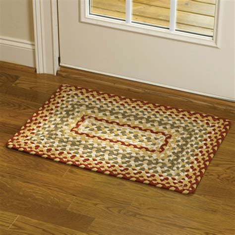 Park Design Rugs by Park Designs Cotton Braided Area Rug Green Ebay