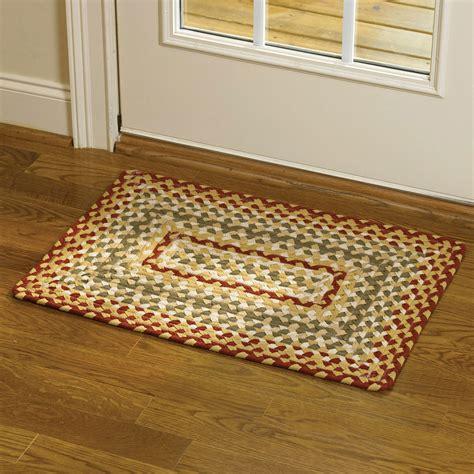 Braided Floor Rugs by Park Designs Cotton Braided Area Rug Green Ebay
