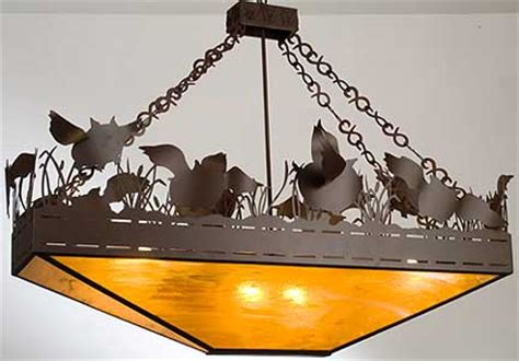 Rustic Ls Flying Pigs Inverted Pendant Chandelier By Flying Pig Chandelier