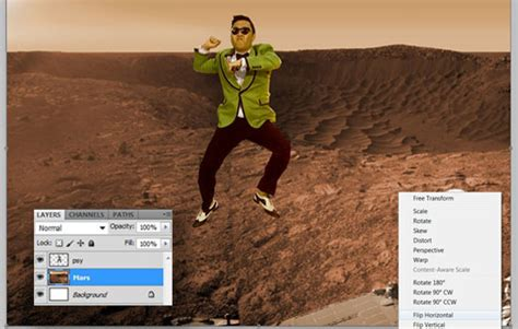 tutorial photoshop how to change background of picture how to change background in photoshop gangnam style