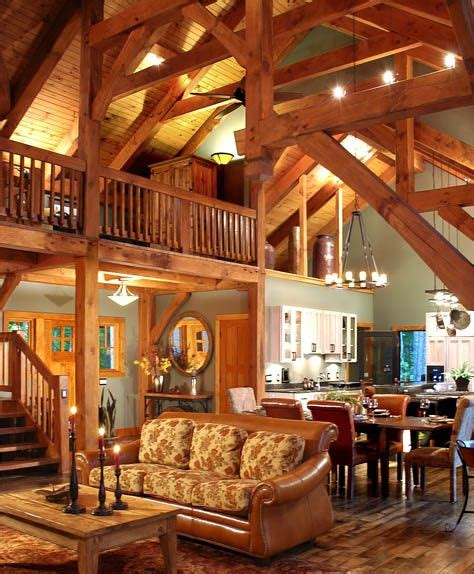 timber frame interior homes