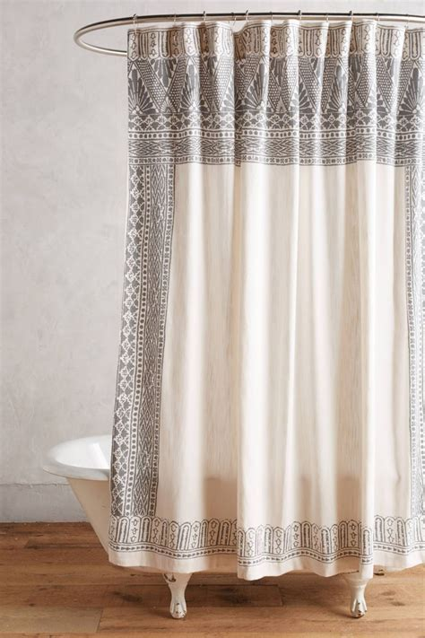 anthropologie shower curtains the latest in shower curtain trends