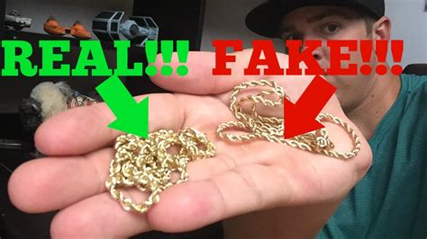 real gold how to spot fake gold youtube