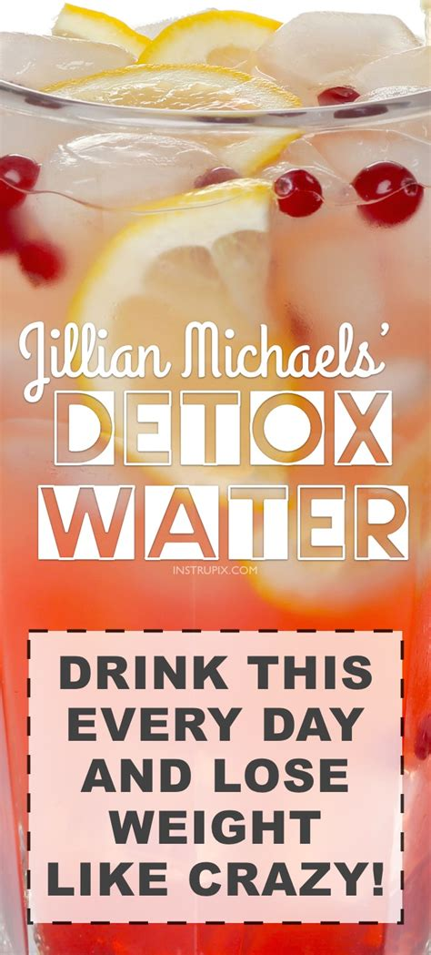Jillian Detox Water Everyday by Cleansing Detox Water Recipe To Lose Weight Fast 3
