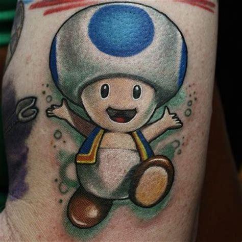 mario star tattoo mario bros toad roger s tattoos 2014 city