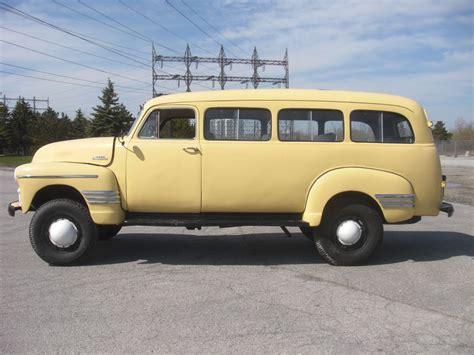 1954 gmc suburban 1954 chevrolet suburban coleman 4x4 used chevrolet