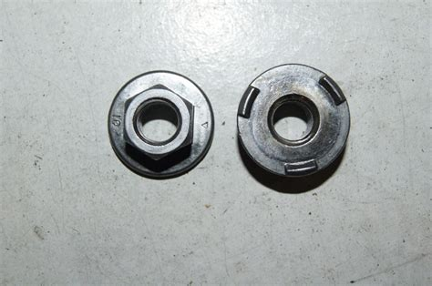 flanged nut   locking teeth infasco nut lp mississauga ont