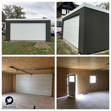 garage holzständerbauweise torantrieb fink garage