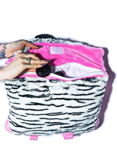 Pillow Pet Backpack by Pillow Pets Zippity Zebra Backpack Dolls Kill