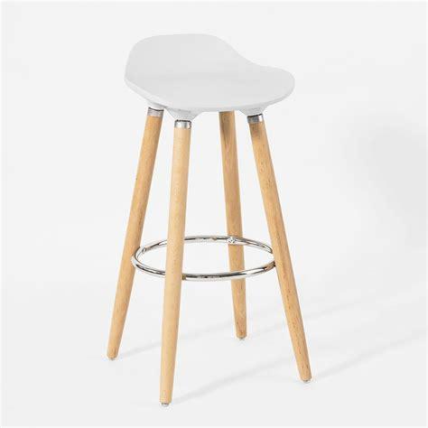 chaises de bar 4 pieds sobuy 174 tabouret de bar cuisine chaise fauteuil bistrot repose pieds fst21 45 fr ebay