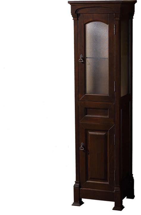 oak linen cabinet for bathrooms andover solid oak bathroom linen tower with cabinet