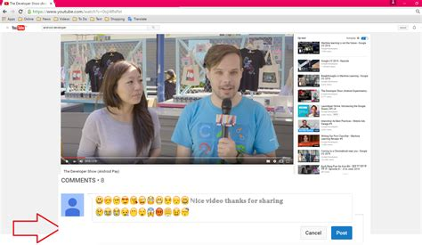 emoji youtube comments youtube comments change font size insert emojis bold