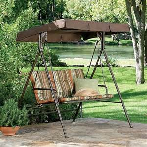 Patio Swing Big Lots Jcp 2 Person Swing Replacement Canopy Gazebos Patio