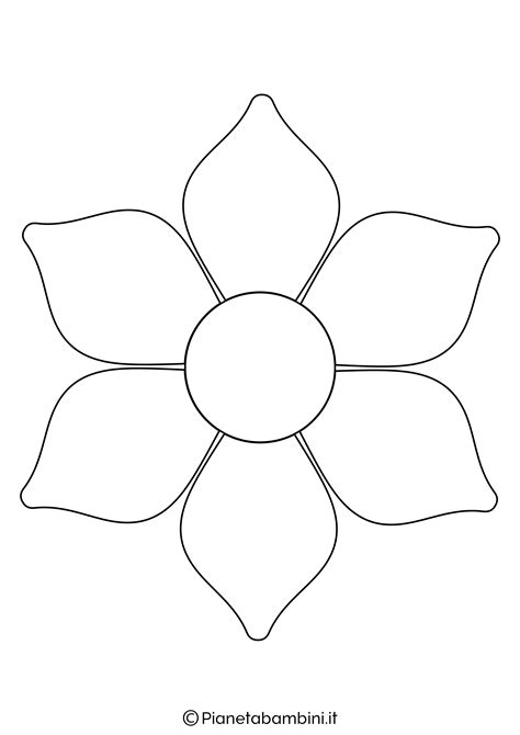 margherita fiore disegno disegno margherita da colorare