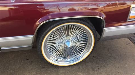 Cadillac Wire Rims by 1992 Cadillac Brougham D Elegance 22 Wire Rims And Vogue