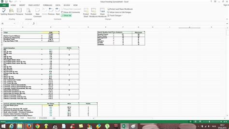 Stock Analysis Spreadsheet Excel Template In Valuation Spreadsheet Stocktake Spreadsheet Stock Analysis Excel Template