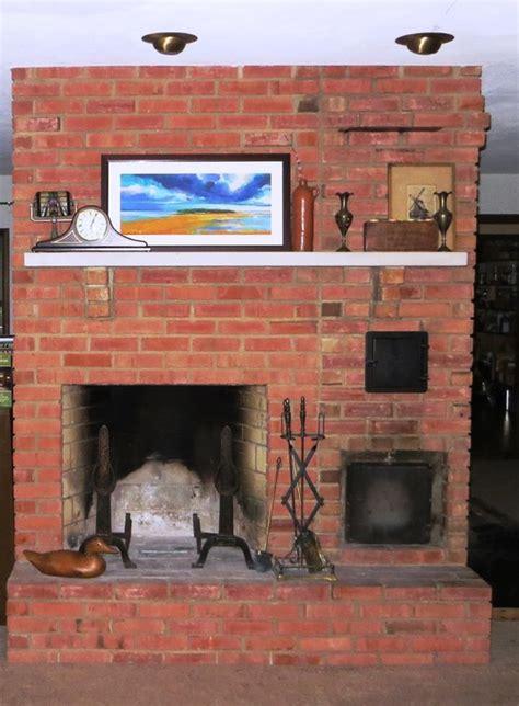 frank lloyd wright style fireplace renovation