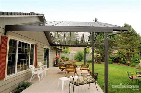 Aluminum Covered Patios by Aluminum Patio Covers Aluminum Patio Cover Kits