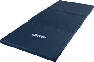 medline bedside folding floor mat fall mat and floor tri fold bedside fall mat