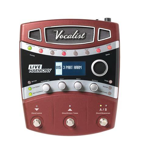 best harmony pedal live harmony digitech guitar effects