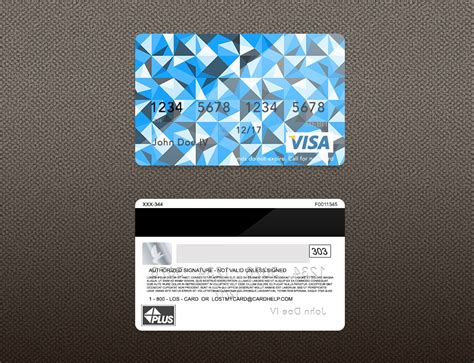 Credit Card Back Side Template Bank Card Credit Card Layout Psd Template Zamartz