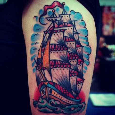 clipper ship tattoo ship tattoos designs ideas and meaning tattoos for you
