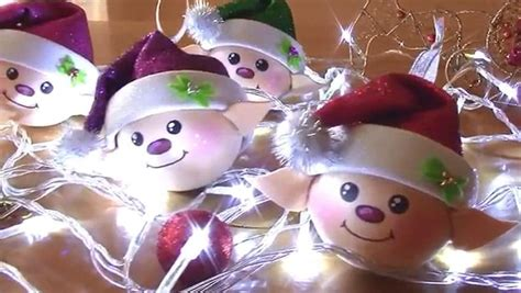 christmas diy elf ornaments littlematrixcom