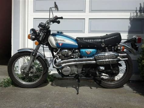 buy 1972 honda cl350 k4 7300 original condition on 2040 motos