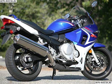 Suzuki Russia мотоцикл Suzuki Bandit Gsx650f цена технические