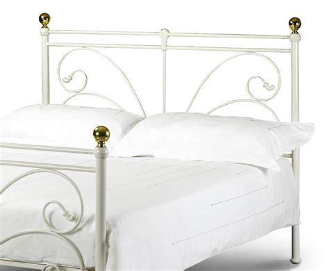 Cadiz Off White Metal Bed Frame Cadiz Bed Frame