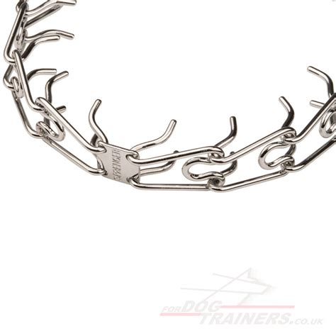 metal collars metal collars chrome plated with snap hook 4 mm
