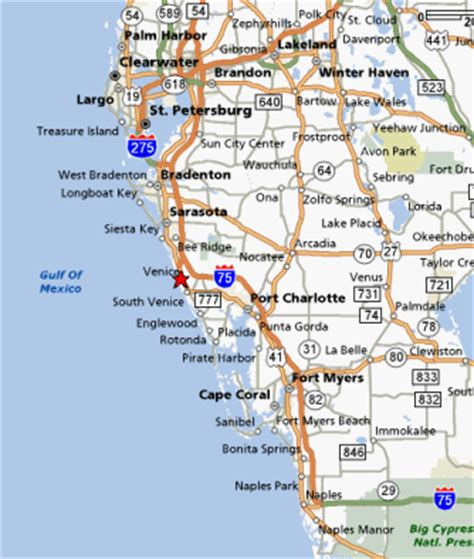 florida gulf coast map of beaches west coast of florida map beaches