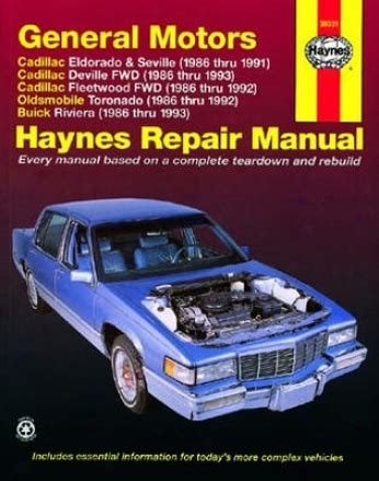 automotive service manuals 1992 cadillac seville security system cadillac low freon signal 1995 deville