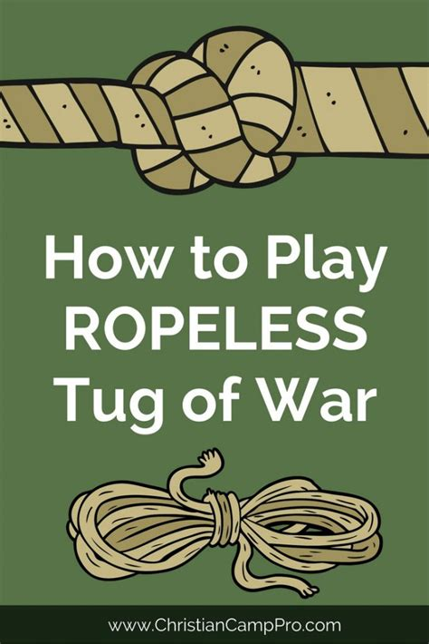 How To Play War | how to play ropeless tug of war christian c pro