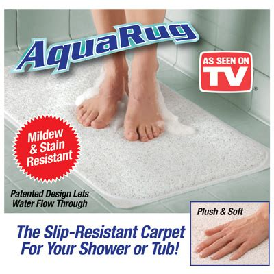 aqua rug as seen on tv aqua rug antimicrobial slip resistant rug from collections etc