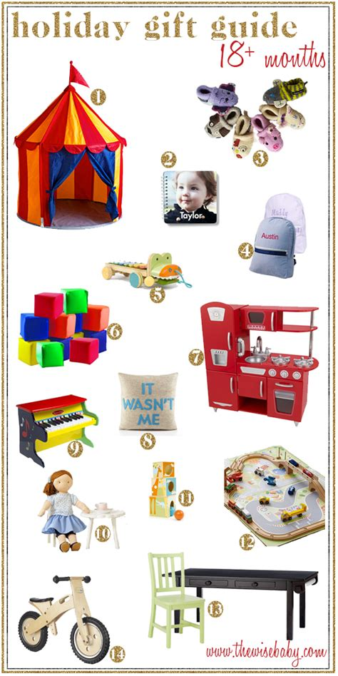 holiday gift guide 18 months the wise baby