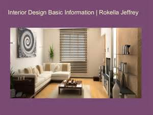Interior Design Basics by Interior Design Basic Information Rokella Jeffrey