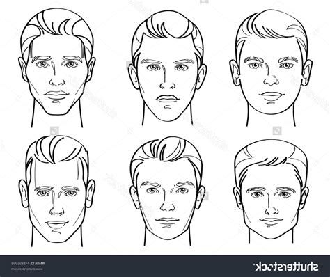 different head shapes men different head shapes men drawing a male face drawing male