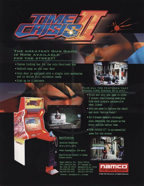 Home Design Games For Pc The Arcade Flyer Archive Game Flyers Time Crisis