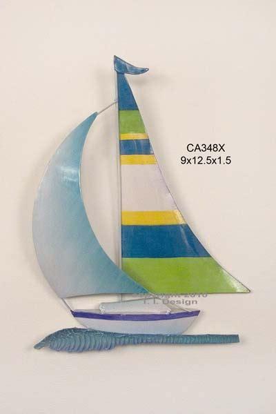 sailboat color sailboat in tropical colors ca348x