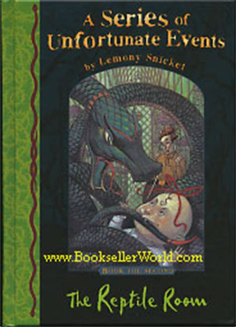 A Series Of Unfortunate Events The Reptile Room by Lemony Snicket The Reptile Room Uk Edition Book