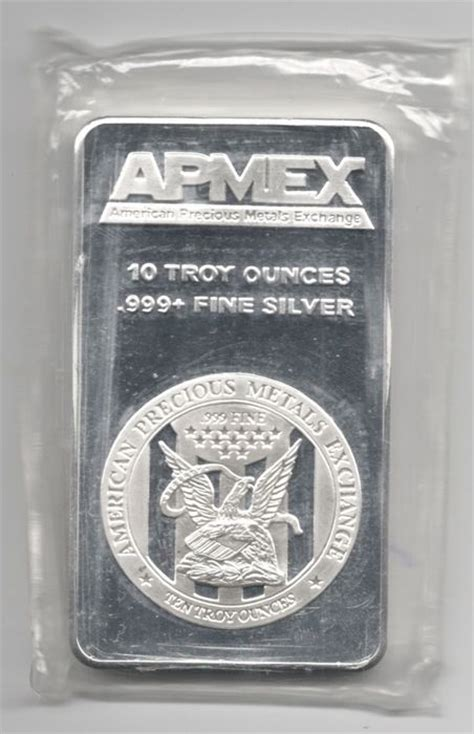 10 Troy Ounces Of Silver In Grams - apmex silver bar of 10 troy ounces 311 034768 grams 999