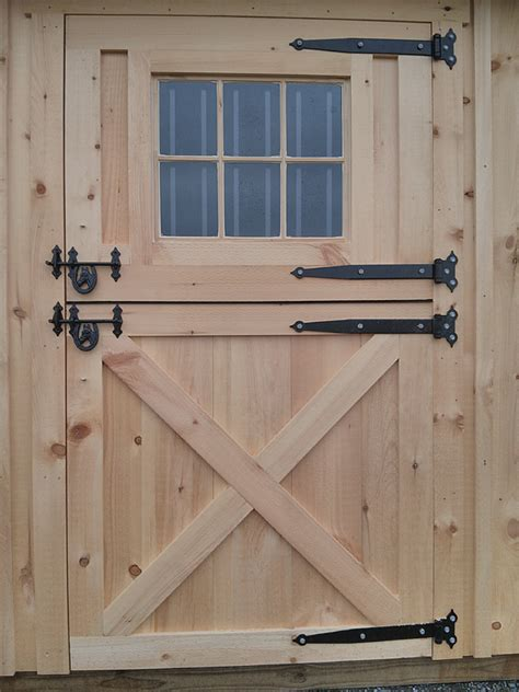 Exterior Dutch Doors Wooden 4x7 Dutch Door With Window Swinging Barn Door Hardware