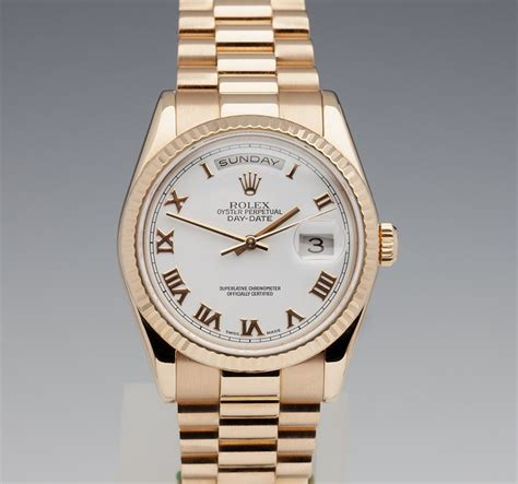 Rolex Datejust Combi Rosegold rolex day date 36mm 18k gold watches catalogue xupes