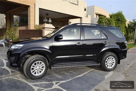 toyota fortuner 2013 fortuner for sale in lahore pakwheels